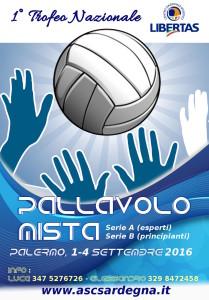 1° trofeo Nazionale di PALLAVOLO Mista Libertas @ Palermo, Sicilia
