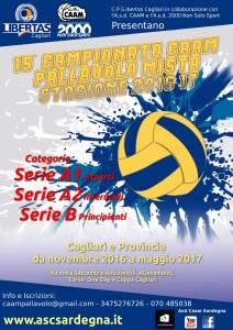 Campionato PALLAVOLO Mista 2016-17 | 15^ Edizione @ Cagliari