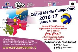 Coppa Medio Campidano PALLAVOLO Mista 2016 - 3^ Edizione @ Cagliari/Medio Campidano