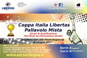 Coppa Italia Libertas di PALLAVOLO MISTA 2017 @ Cagliari e Provincie Limitrofe