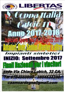 Coppa Italia CALCIO a 11 Libertas Cagliari 2017-18