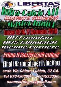 MASTERJUNIOR INFRASETT. CALCIO A11 @ Cagliari e Hinteland