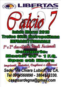 TROFEO CITTA' MEDITERRANEA 2018 CALCIO A7 @ Cagliari e Hinterland