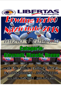 BOWLING CAMPIONATO NAZIONALE 2018 @ CAGLIARI