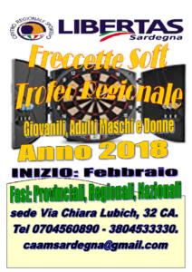 FRECCETTE SOFT TROFEO REGIONALE 2018 @ CAGLIARI