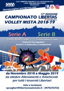 Campionato PALLAVOLO mista Libertas Cagliari 2018-19 @ Cagliari e Hitnerland
