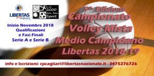 Campionato PALLAVOLO Mista Medio Campidano 2018-19 @ Medio Campidano e Zone Limitrofe