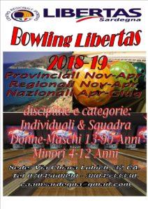 5°Bowling 2018-19 Campionati Provinciali–Regionali-Nazionali Individuale & Squadre @ QUARTUCCIU | Redondo Beach | California | Stati Uniti