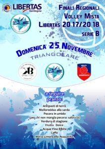 Finali Regionali di PALLAVOLO Mista Sardegna 2018 - Serie B @ Samassi