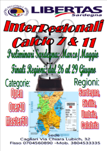 FINALI NAZIONALI INTERREGIONALI CALCIO A11 E CALCIOA7 @ CAGLIARI