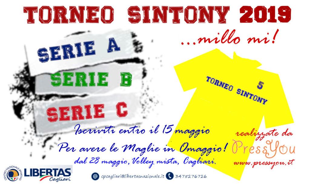 PALLAVOLO Mista Torneo Sintony 2019