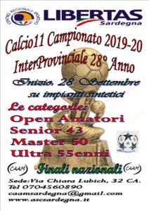 28° Campionato InterProvinciale Libertas Calcio A11 – Anno 2019 – 20 @ Cagliari e Hinterland