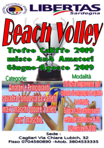 "BEACH VOLLEY ""TROFEO CALIFFO 2019"""