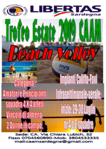 Trofeo ESTATE CAAM Beach Volley 4 X 4 misto @ Hotel Califfo Foxi