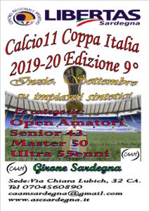 9° Coppa Italia Calcio A11 Girone Sardegna @ CAGLIARI E INTERLAND