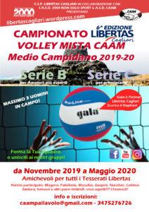 Campionato PALLAVOLO Mista Medio Campidano 2019-20 @ Medio Campidano