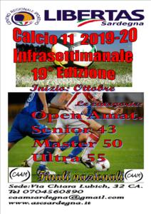 Infrasettimanale Calcio A11 - 19° Edizione  2019-2020 @ Cagliari e Hinterland