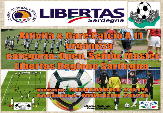 ATTIVITA' & GARE CALCIO A11 STAGIONE 2019/2020 @ CAGLIARI E INTERLAND