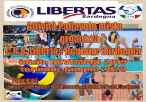 ATTIVITA' PALLAVOLO Libertas Sardegna 2019-20 @ CAGLIARI