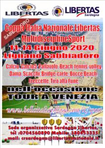 """LIGNANO SABBIADORO """"COPPA ITALIA""""    MULTIDISCIPLINE/SPORT  11 / 14  GIUGNO 2020"""