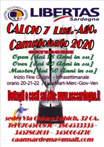 CAMPIONATO CALCIO A7 STAGIONE 2020 @ CAGLIARI E INTERLAND