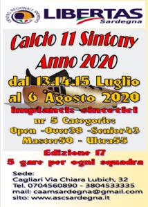 """17° TORNEO """"SINTONY"""" CALCIO A11 @ CAGLIARI"""