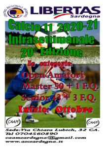 Infrasettimanale Calcio A11 – 20° Edizione 2020-2021 @ CAGLIARI E INTERLAND