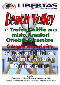 BEACH VOLLEY MISTO - 1° Trofeo Califfo 2020 @ Hotel Califfo