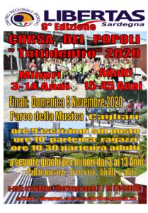 """""""CORSA DEI POPOLI - TuttiDentro 2020"""" 9° Edizione @ CAGLIARI"""