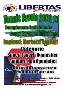 Tennis Tavolo 2020-21: Amatori e Super! @ Palestra Marcozzi