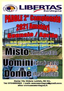PADDLE-PADEL: 2° Campionato Libertas Sardegna 2021!