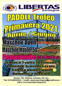 PADEL (o Paddle): Toreo Primavera 2021! @ Cagliari