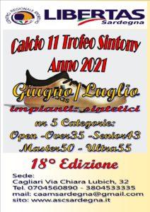 """18^ EDIZIONE """"SINTONY 2021"""" CALCIO A11 LIBERTAS @ CAGLIARI E INTERLAND"""