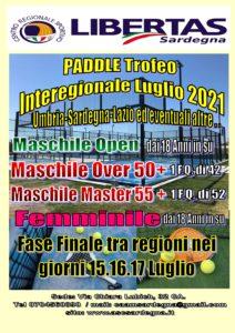 PADEL Interregionale Luglio 2021 @ Cagliari