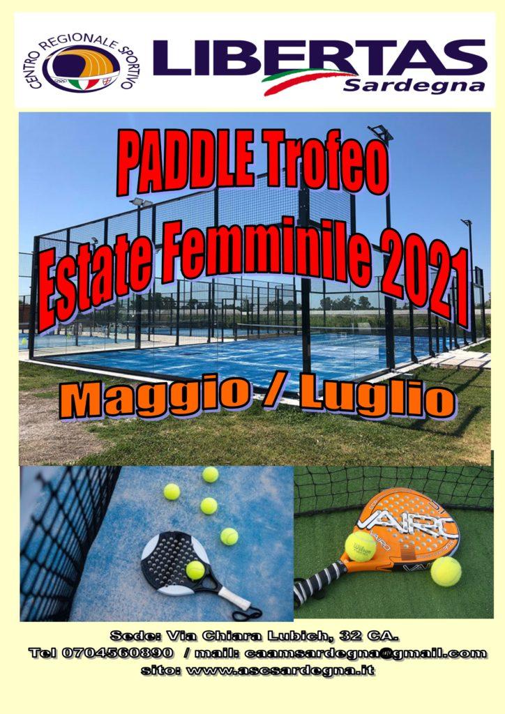 PADEL: Trofeo Estate Femminile 2021 @ Cagliari