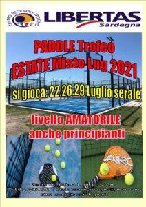 PADEL: TROFEO ESTATE MISTO LUGLIO 2021 @ CAGLIARI
